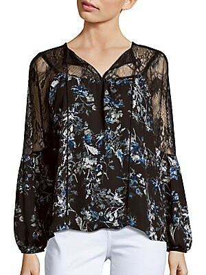 Peasant Lace Top