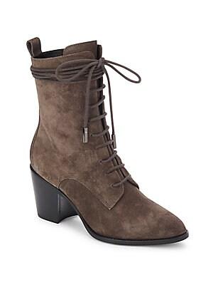Duran Wraparound Laced Boots