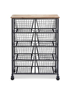 UPRIGHT ROLLING UTILITY CART