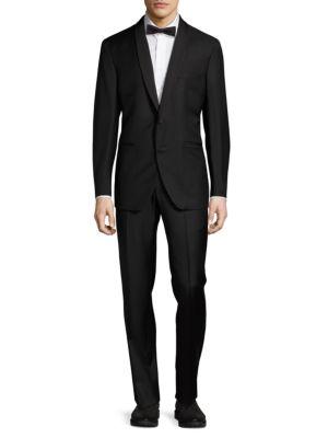 Wool Shawl Collar Tuxedo Saks Fifth Avenue Made in Italy