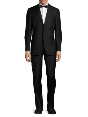 Wool Notch Lapel Tuxedo Saks Fifth Avenue Made in Italy