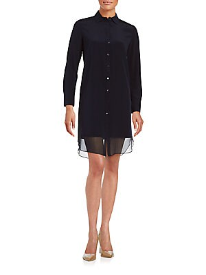 Georgetter Shirtdress