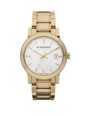 Classic Stainless Steel Watch Burberry