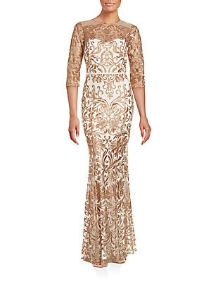 Embroidered Gown