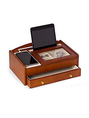 Wood Valet Jewelry Box