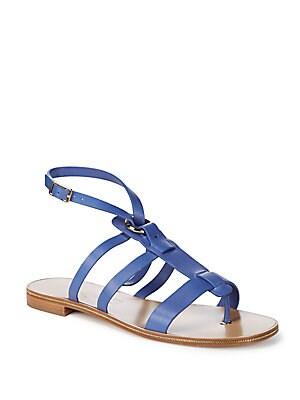 Fiamma Strappy Leather Sandals