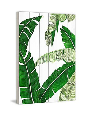 Banana Leaves Painting