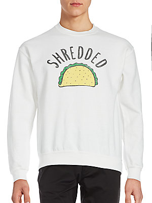 Taco Graphic Sweatshirt
