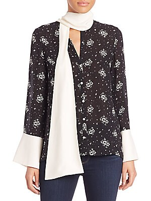 Stardust Rowan Silk Floral Top