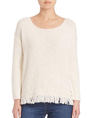 Soft Joie Aaryan Fringe Hem Sweaters