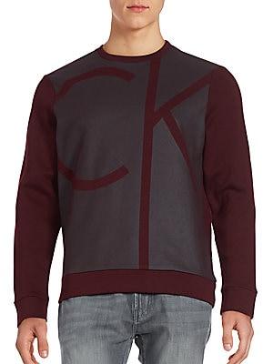 Logo Print Cotton-Blend Sweatshirt