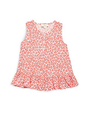 Little Girl's Pleated Dress