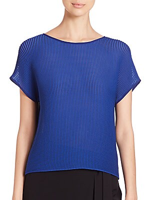 Nadette Pleated Blouse