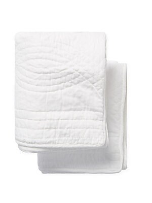 Cotton Plaza Reversible Standard Sham- Set of 2
