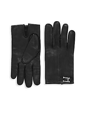 Black Lambskin Gloves