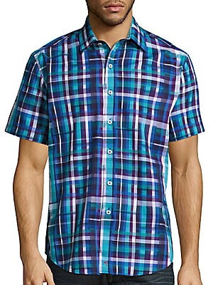 Wells Classic-Fit Short Sleeve Shirt