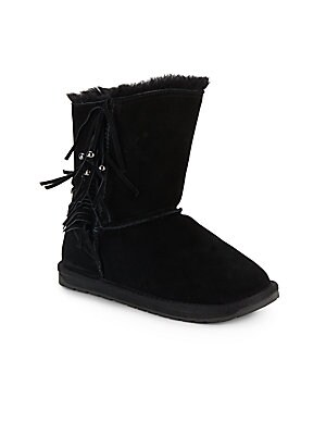 Girl's Stanwell Faux Fur-Trimmed Winter Boots