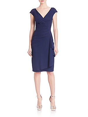 Charis Faux-Wrap Dress