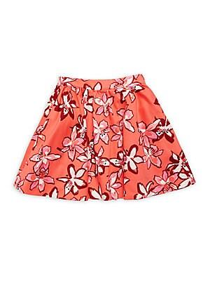 Girls Floral Skirt