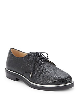Jimmy Texture Leather Shoes