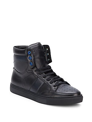 Trebel Hightop Leather Sneakers