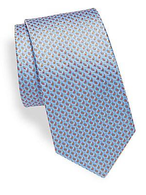 Tight Pines Silk Tie