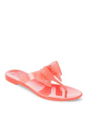 Pandy Gel Thong Sandals Salvatore Ferragamo