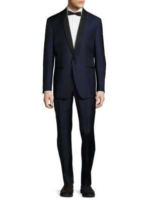 Modern Fit Shawl-Collar Tuxedo Saks Fifth Avenue Made in Italy