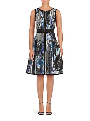 Reversable Floral Print Dress