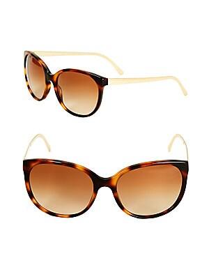 Tortoise Shell Cat's Eye Sunglasses