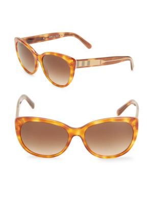 BURBERRY 56MM Gradient Cat's-Eye Sunglasses at Saks Off 5TH
