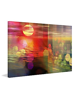 Sunset Wrapped Canvas Print