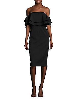 Two Fold Ruffled Dress