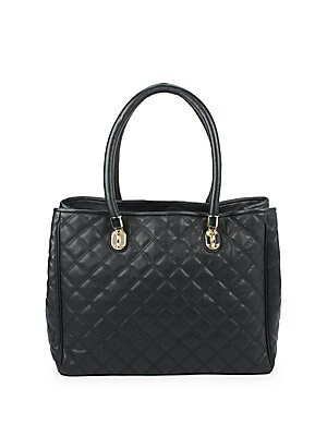 Benson Quilted Leather Handbag