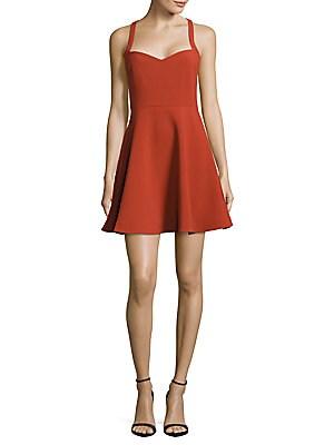 Huntington Fit-&-Flare Dress