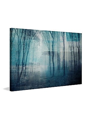 Partial Light Wrapped Canvas Print