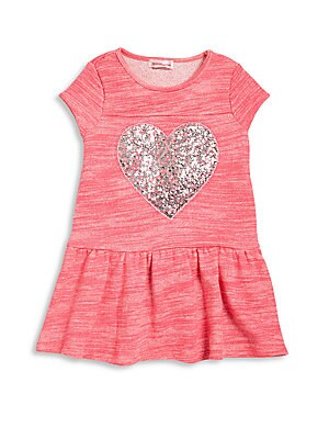 Toddler's & Little Girl's Sequin Embellished Dress