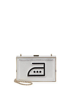 Imperial Textured Crossbody Clutch