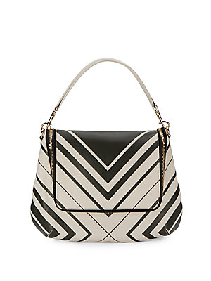 Maxi Zip Satchel Handbag