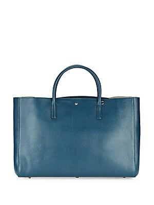 Ebury Tie-Up Leather Handbag