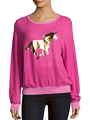 BBJ Ciao Unicorn Printed Pullover