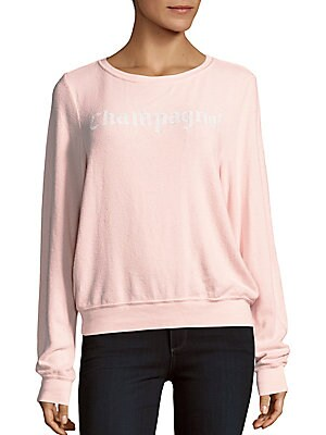 Champagne Graphic Sweater