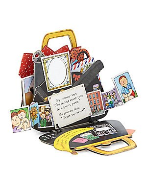 workman publishing female my grannys purse popup book