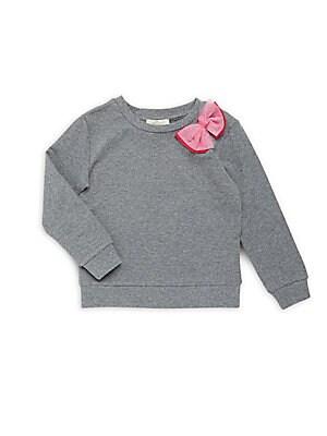 Little Girl's Tulle Ribbon Pullover