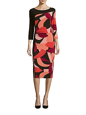 Rochie midi LAUNDRY BY SHELLI SEGAL