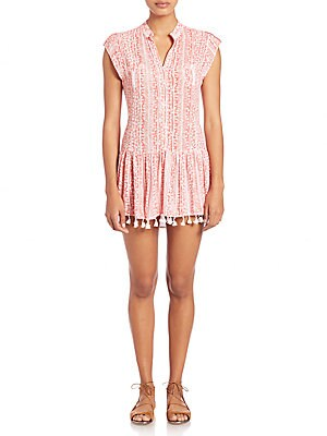 Heni Mini Fringe Hem Dress