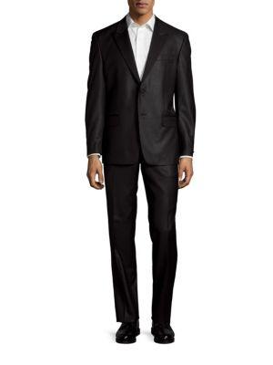 Wool Peak Lapel Tuxedo Versace Collection