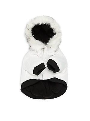 Aspen Faux Fur-Trimmed Winter Dog Coat