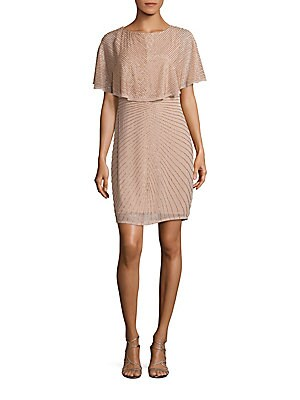 Embellished Sheath Dress