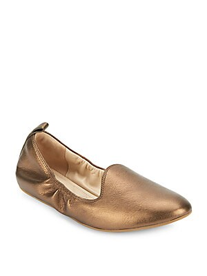 Tali Metallic Ballet Flats